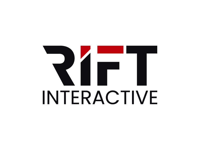 RIFT Interactive logo design by aryamaity