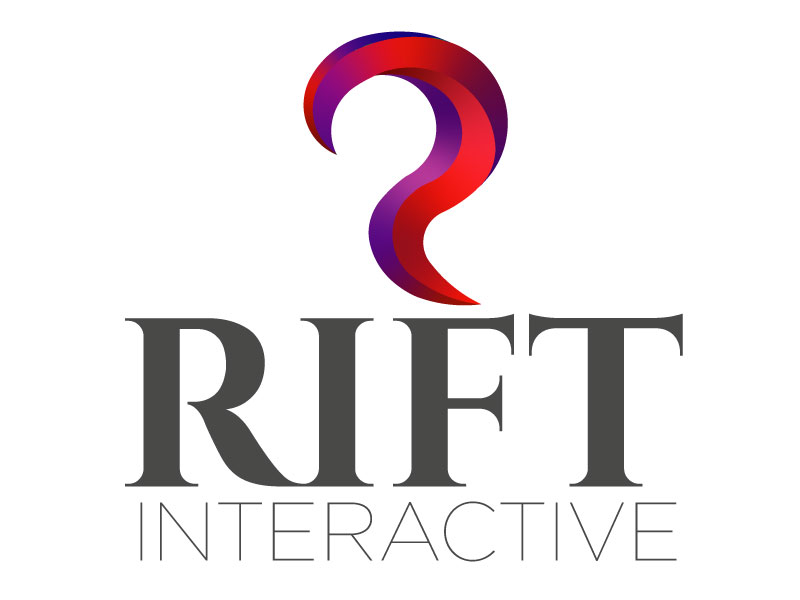 RIFT Interactive logo design by Htz_Creative