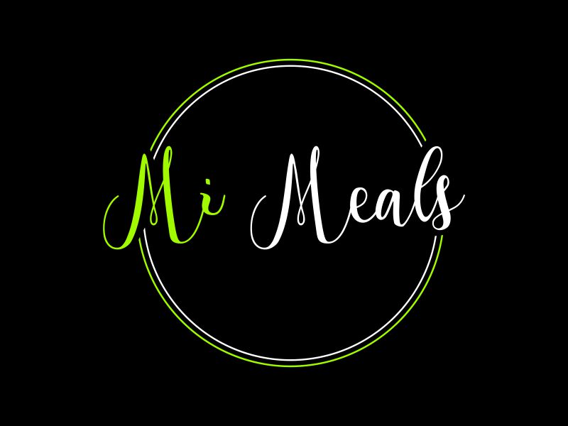MI MEALS logo design by giphone