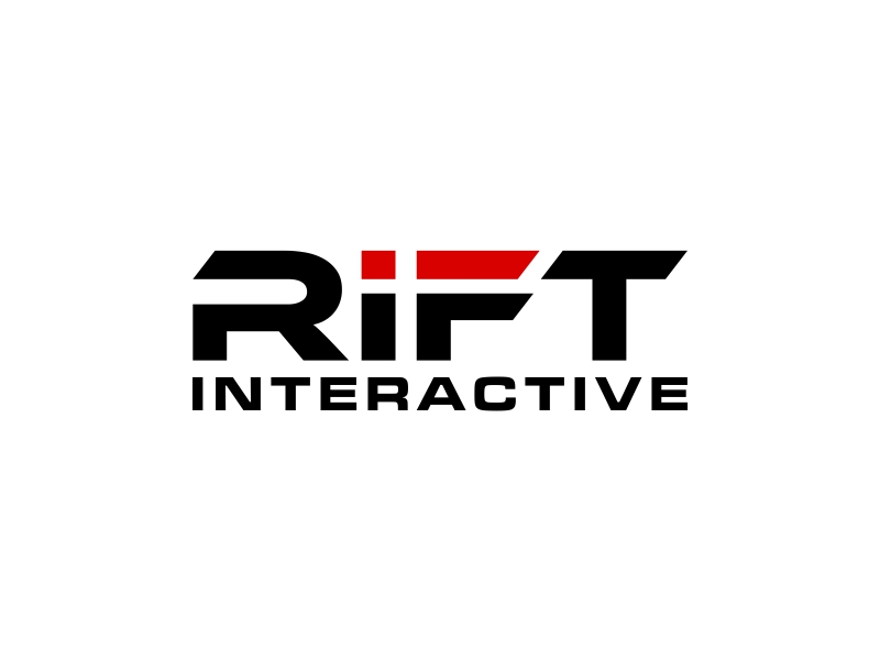 RIFT Interactive logo design by DMC_Studio