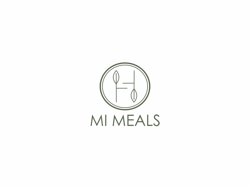 MI MEALS logo design by Greenlight