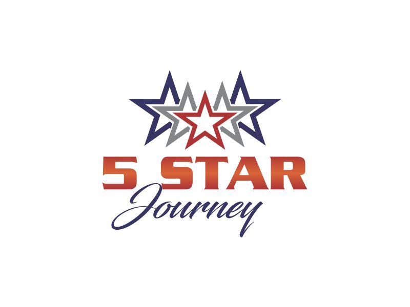 5 Star Journey logo design by oke2angconcept