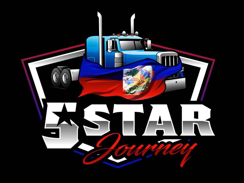 5 Star Journey logo design by DreamLogoDesign