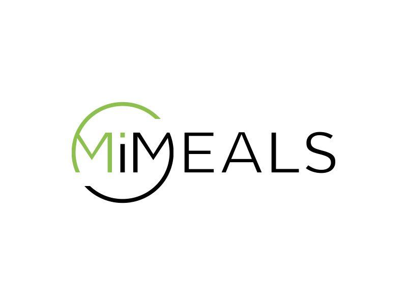 MI MEALS logo design by MUNAROH