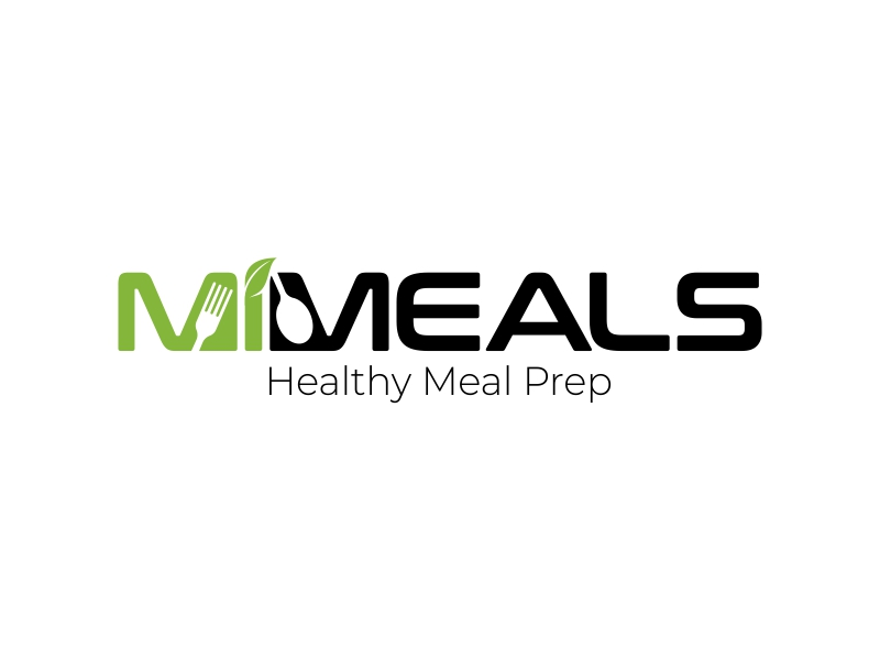 MI MEALS logo design by ekitessar