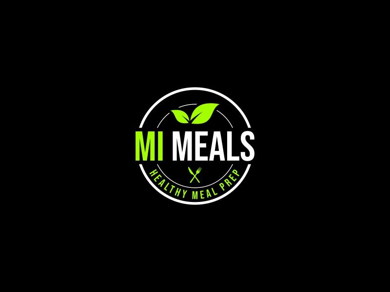 MI MEALS logo design by Zeratu