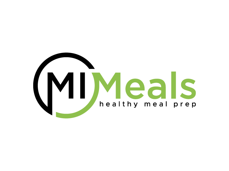 MI MEALS logo design by denfransko