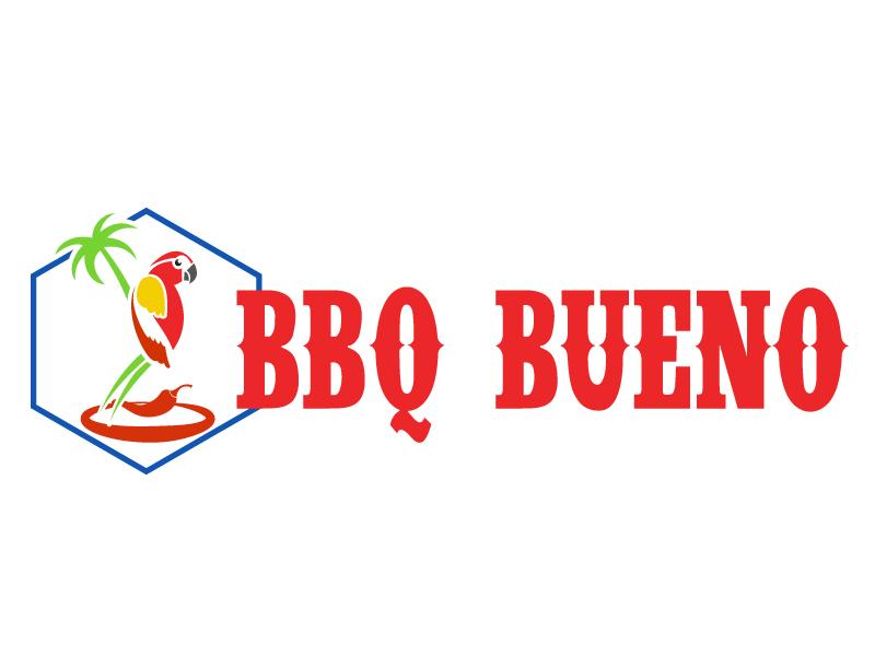 BBQ Bueno logo design by ElonStark