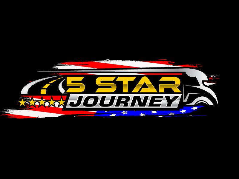 5 Star Journey logo design by Suvendu
