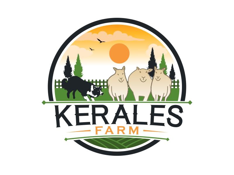 Kerales Farm logo design by AnandArts