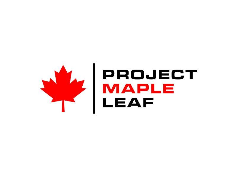 Project Maple Leaf logo design by GassPoll