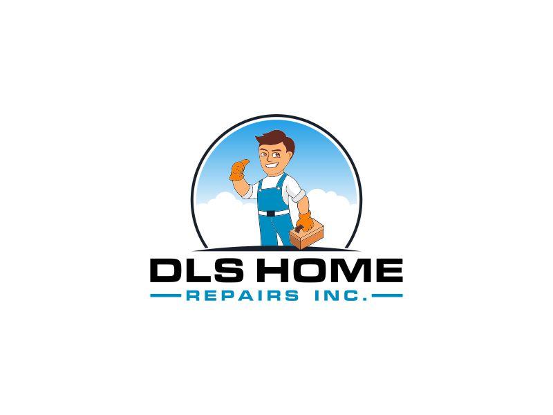 DLS Home Repairs Inc. logo design by Rhiezone
