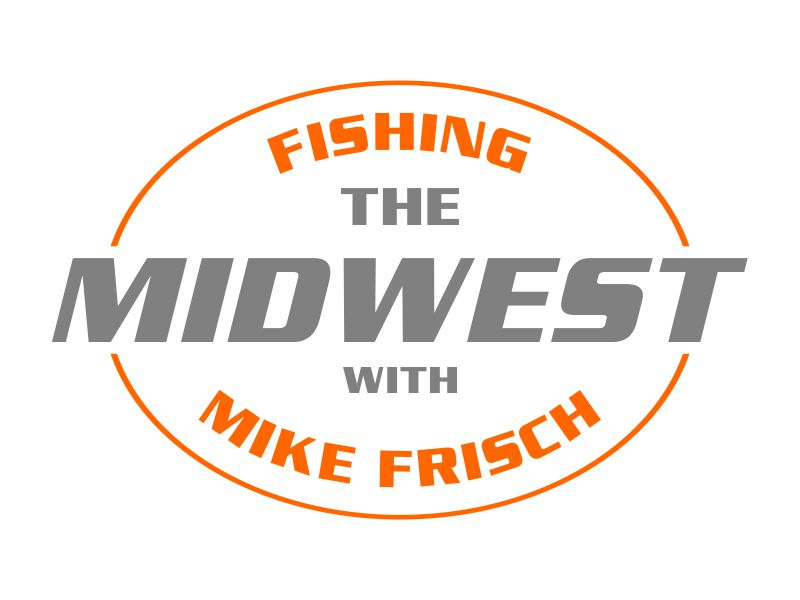 Fishing the Midwest with Mike Frisch logo design by beejo