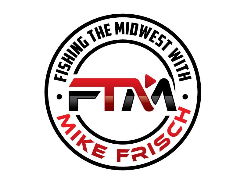 Fishing the Midwest with Mike Frisch logo design by REDCROW