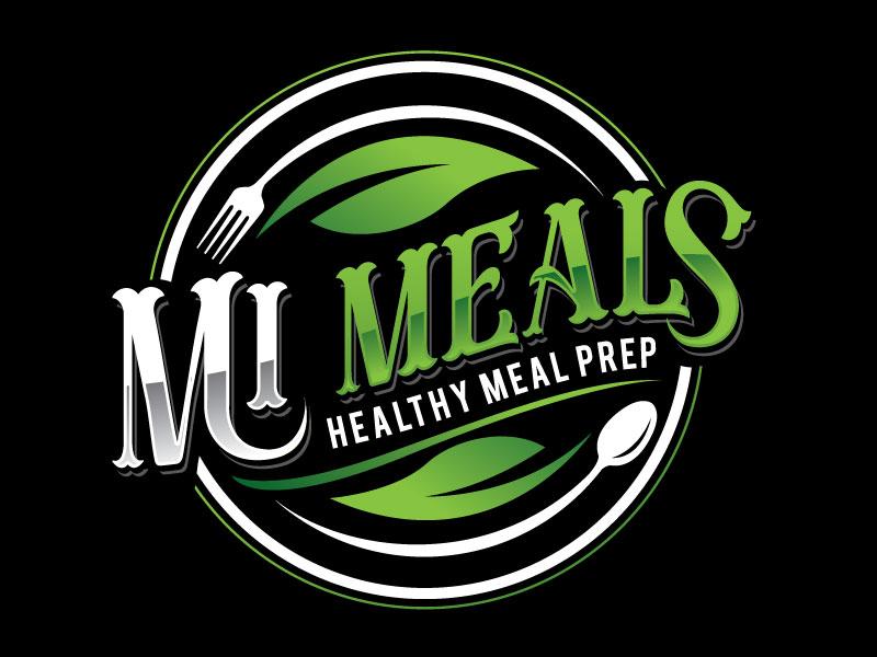 MI MEALS logo design by REDCROW