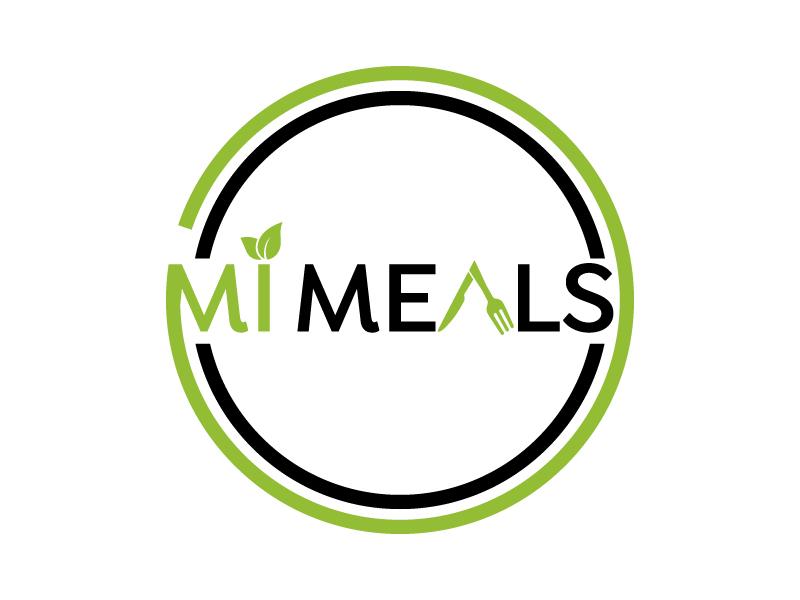 MI MEALS logo design by Erasedink