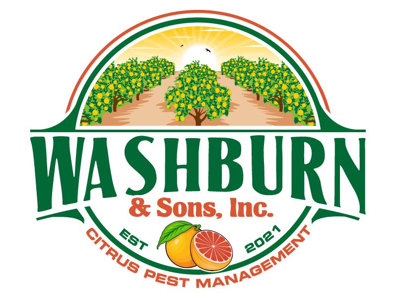 Washburn & Sons, Inc. logo design by Suvendu