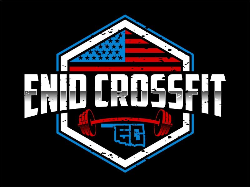 Enid CrossFit logo design by cintoko