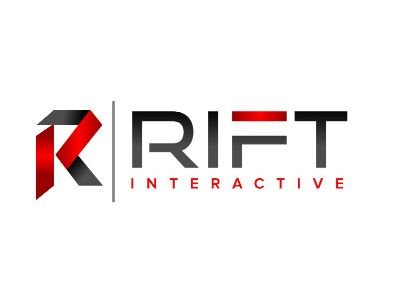 RIFT Interactive logo design by jaize