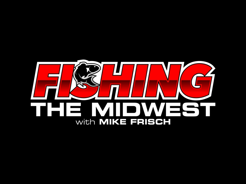 Fishing the Midwest with Mike Frisch logo design by ekitessar