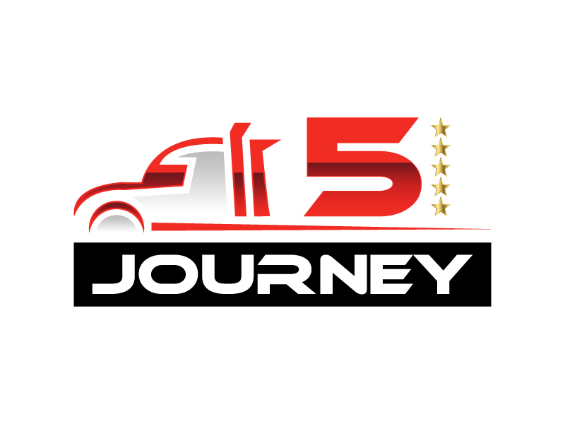 5 Star Journey logo design by wongndeso
