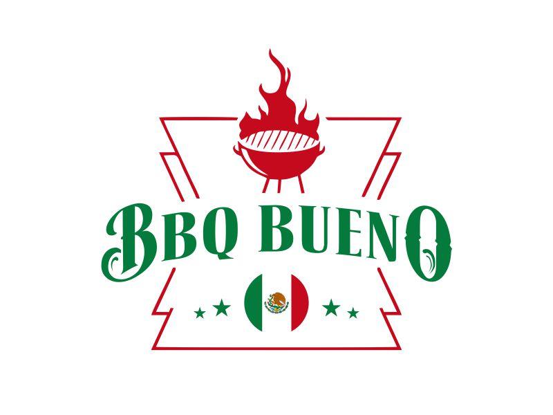 BBQ Bueno logo design by Gwerth
