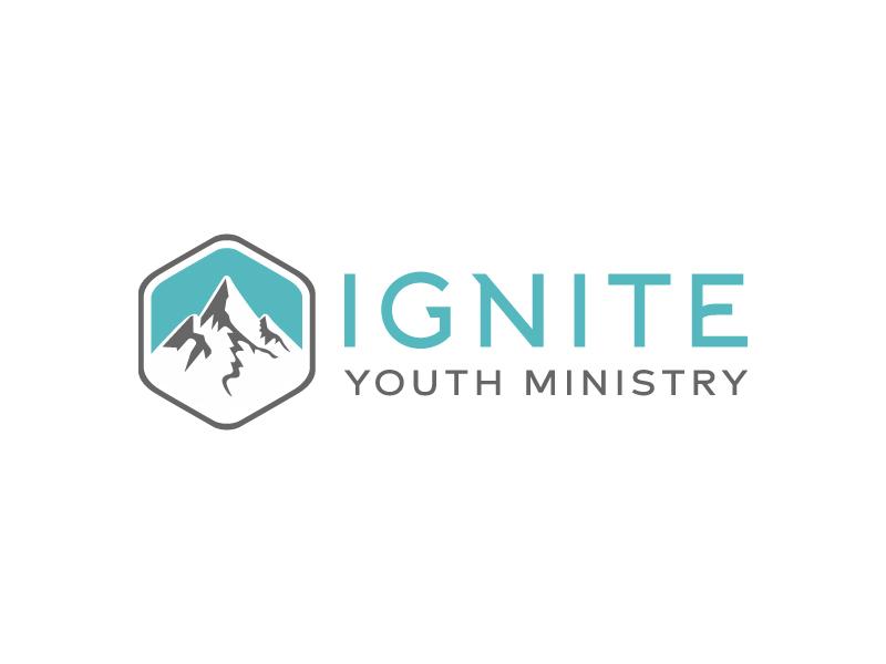 Ignite Youth Ministry Logo Design