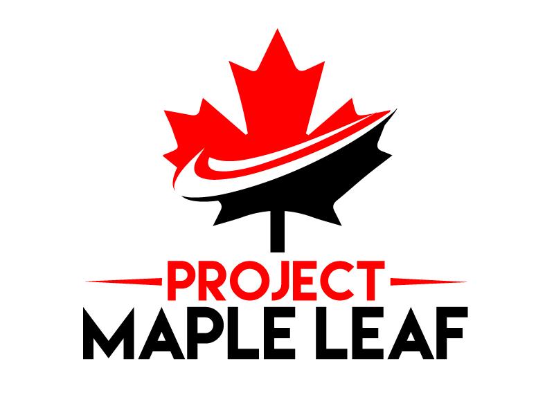 Project Maple Leaf logo design by ElonStark