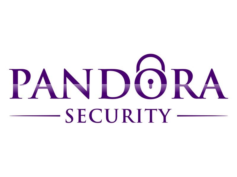 Pandora Security logo design by lintinganarto