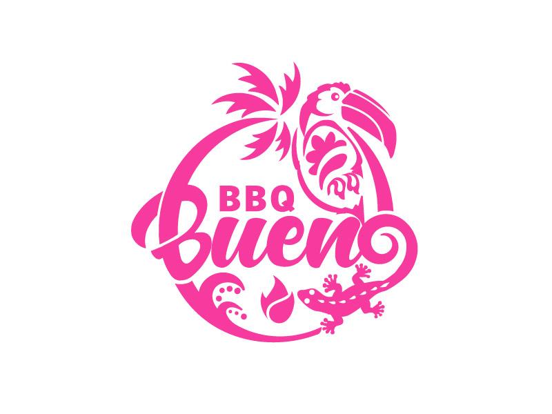 BBQ Bueno logo design by ARALE
