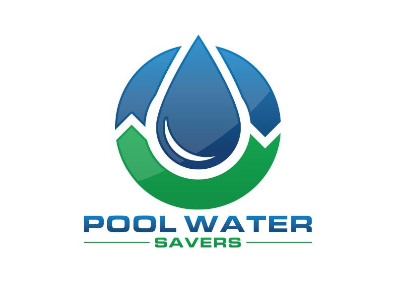 Pool Water Savers logo design by MarkindDesign™