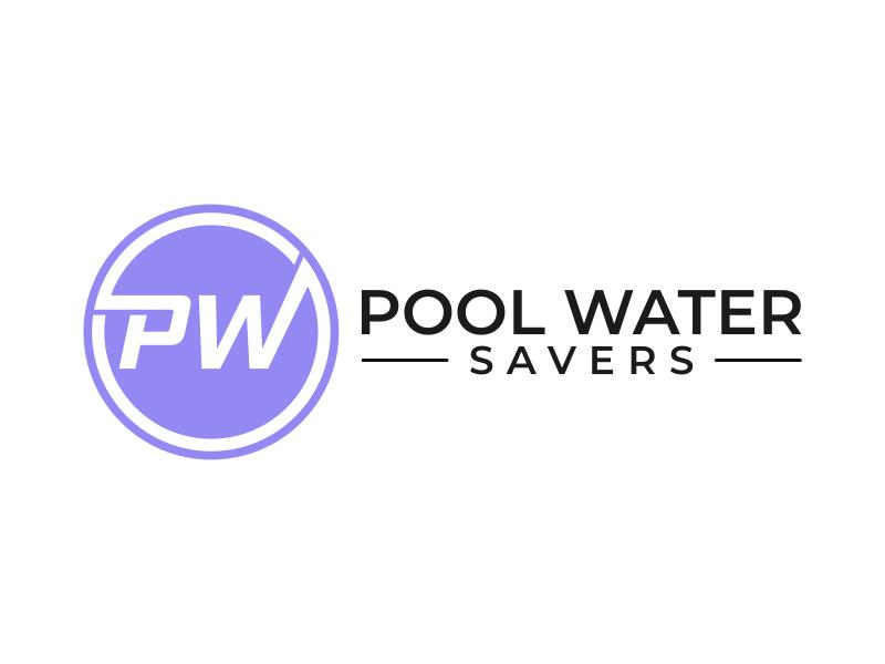 Pool Water Savers logo design by dollart