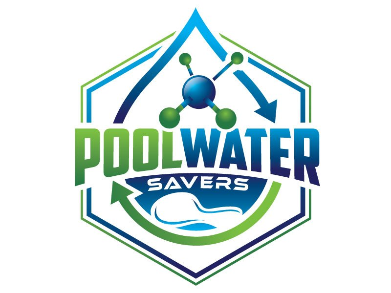 Pool Water Savers logo design by REDCROW