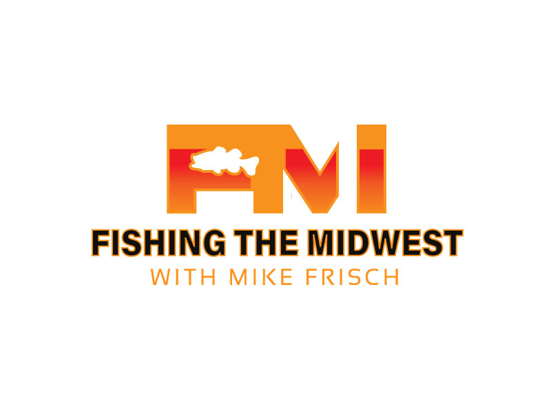 Fishing the Midwest with Mike Frisch logo design by M Fariid