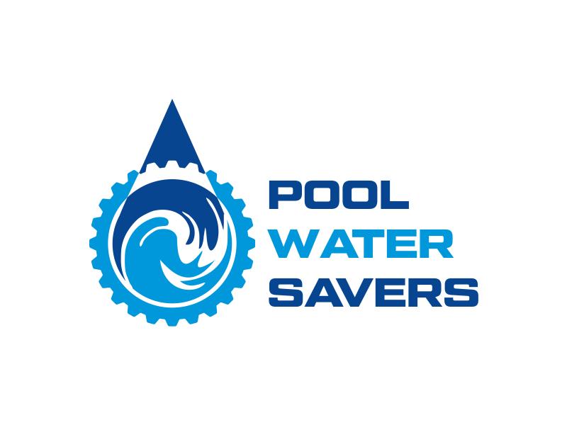 Pool Water Savers logo design by cikiyunn