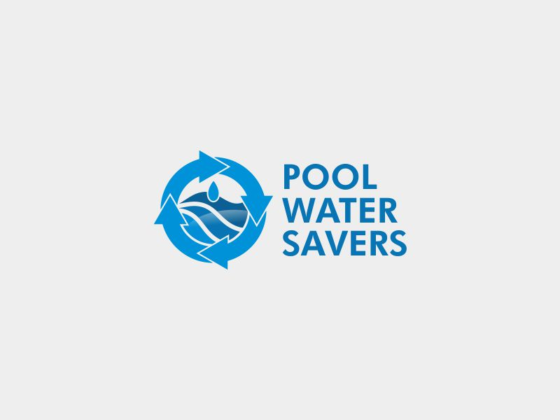 Pool Water Savers logo design by stark