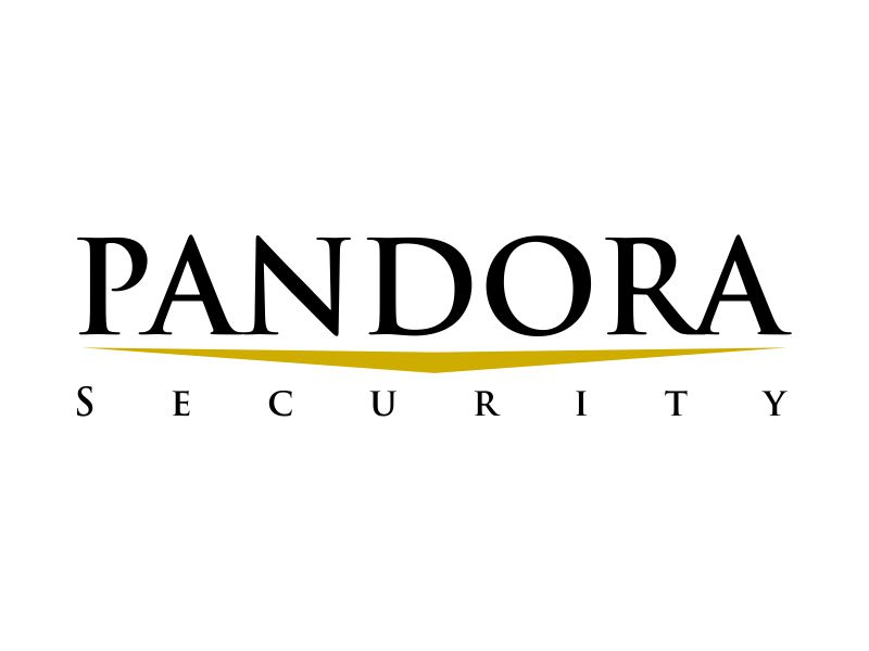Pandora Security logo design by kopipanas