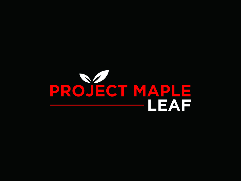 Project Maple Leaf logo design by bomie
