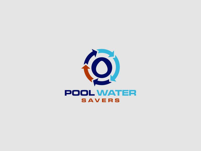 Pool Water Savers logo design by azizah