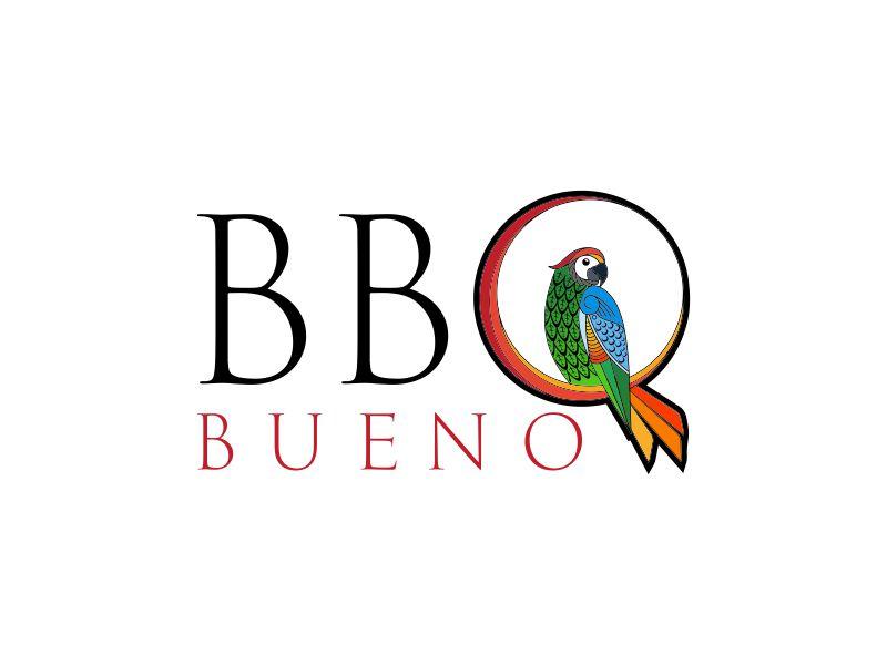 BBQ Bueno logo design by Rhiezone