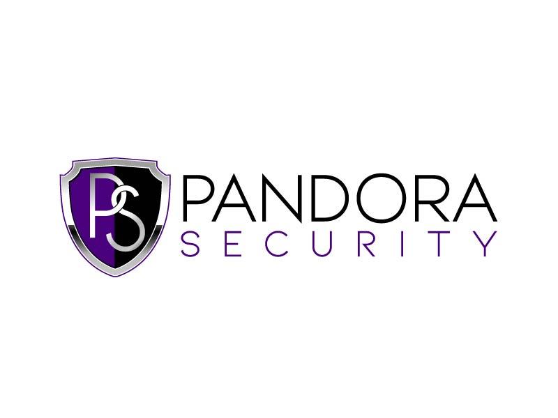 Pandora Security logo design by axel182