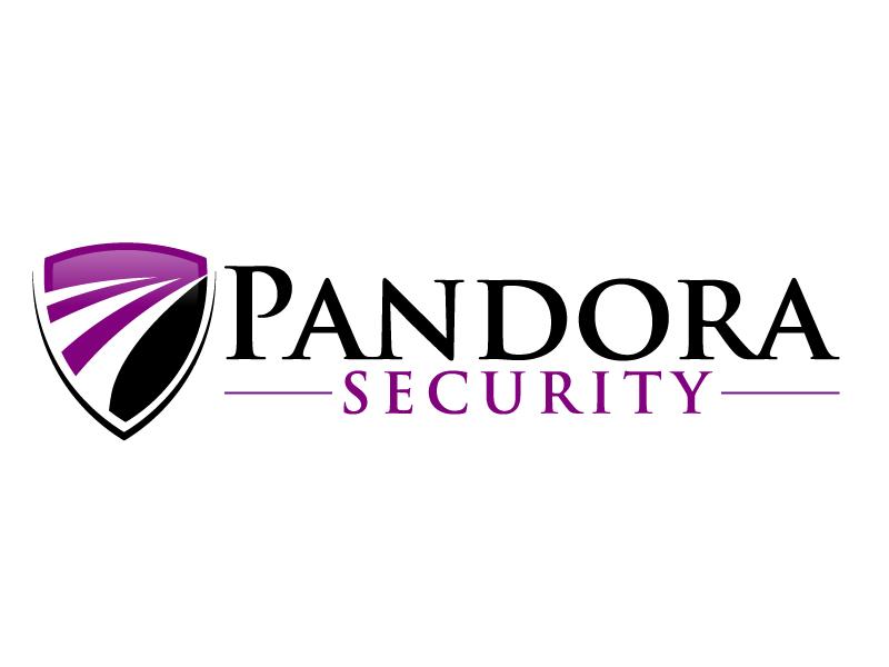Pandora Security logo design by ElonStark