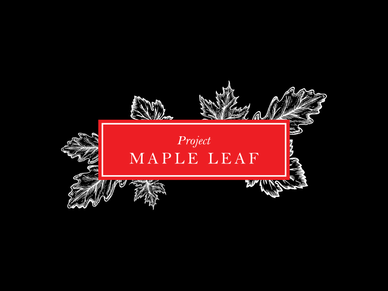 Project Maple Leaf logo design by zubi