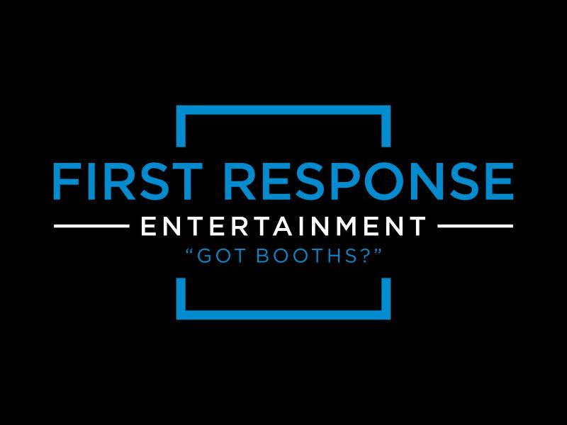 "First Response Entertainment ""Got Booths?"" logo design by dewipadi"