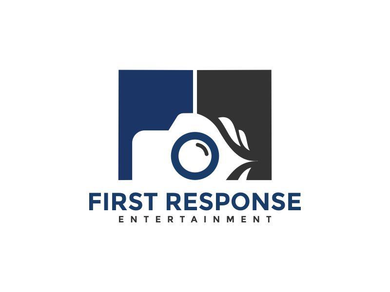 "First Response Entertainment ""Got Booths?"" logo design by Akisaputra"