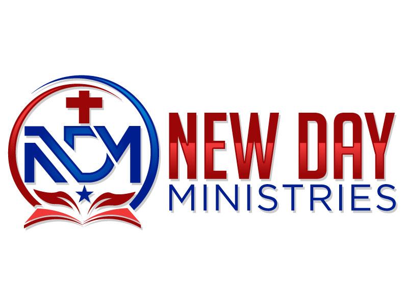 New Day Ministries logo design by Pintu Das