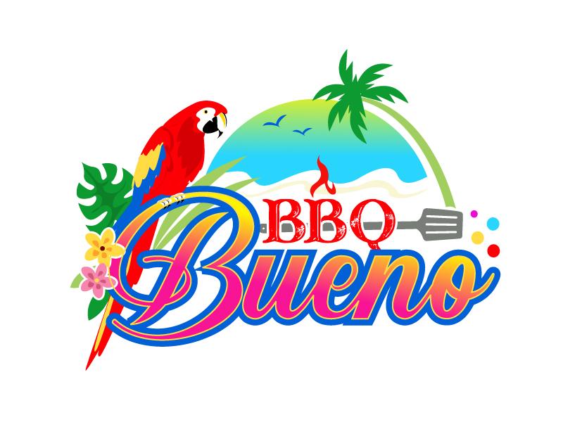 BBQ Bueno logo design by uttam