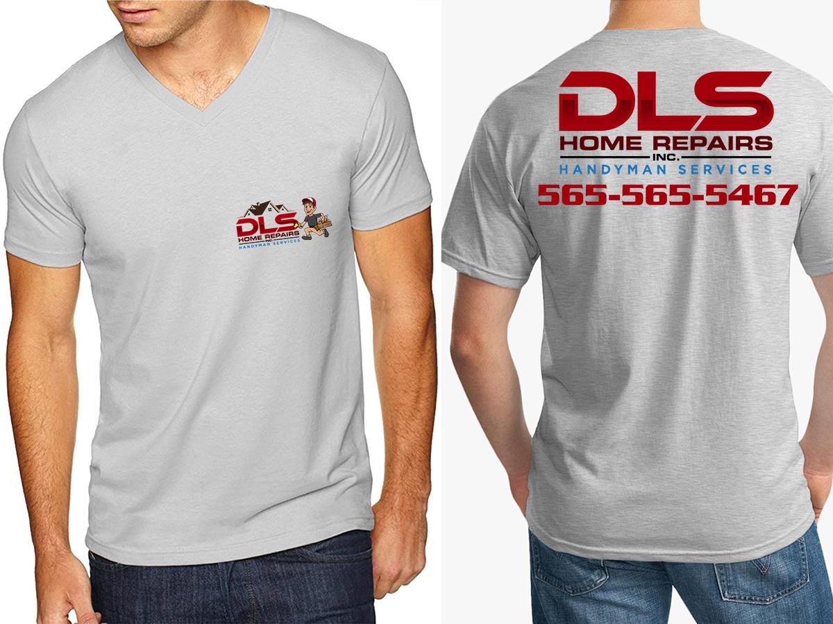 DLS Home Repairs Inc. logo design by Thuwan Aslam Haris