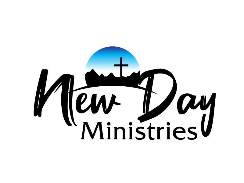 New Day Ministries logo design by ElonStark