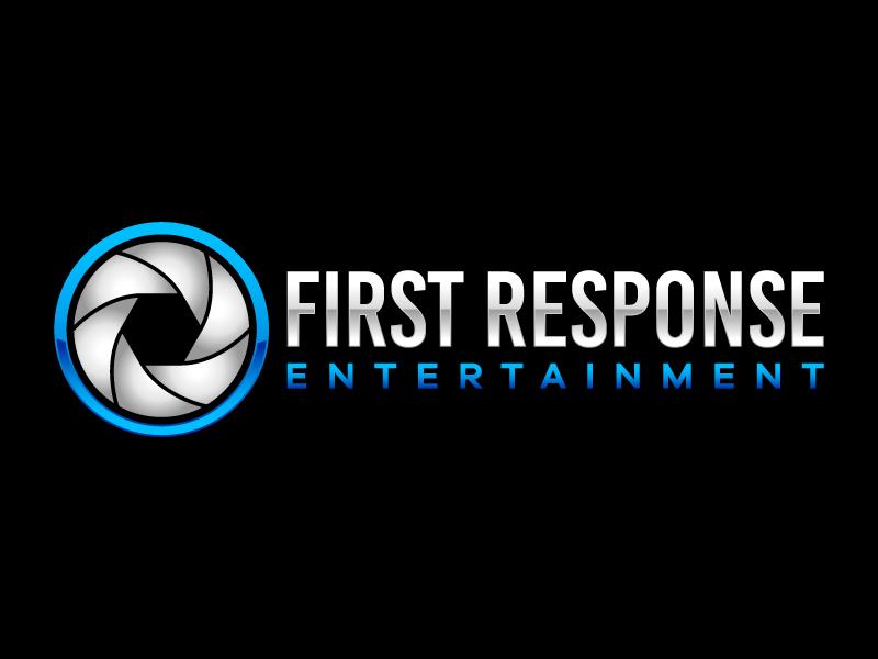 "First Response Entertainment ""Got Booths?"" logo design by Kirito"